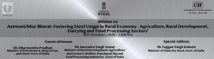Aatmanirbhar Bharat: Fostering Steel Usage in Rural Economy